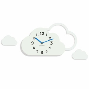 Clock for kids Clouds