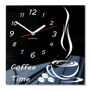 Kitchen wall clock Coffee Time