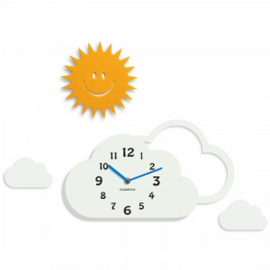 Clock for kids Clouds (1)