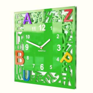 Clock for kids LETTERS
