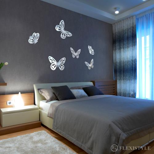 Lustro Dekoracyjne Belle Farfale Duże Motyle