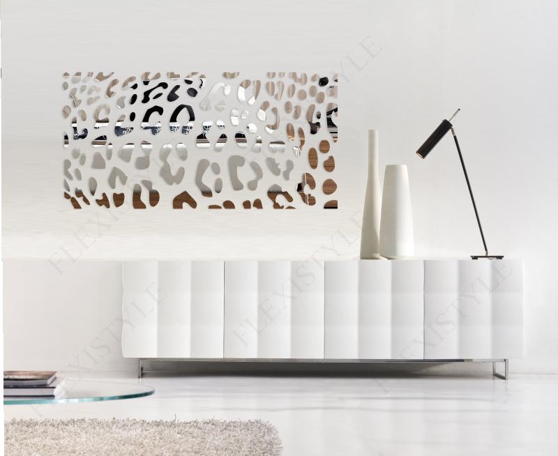Acrylic Mirror Leopard