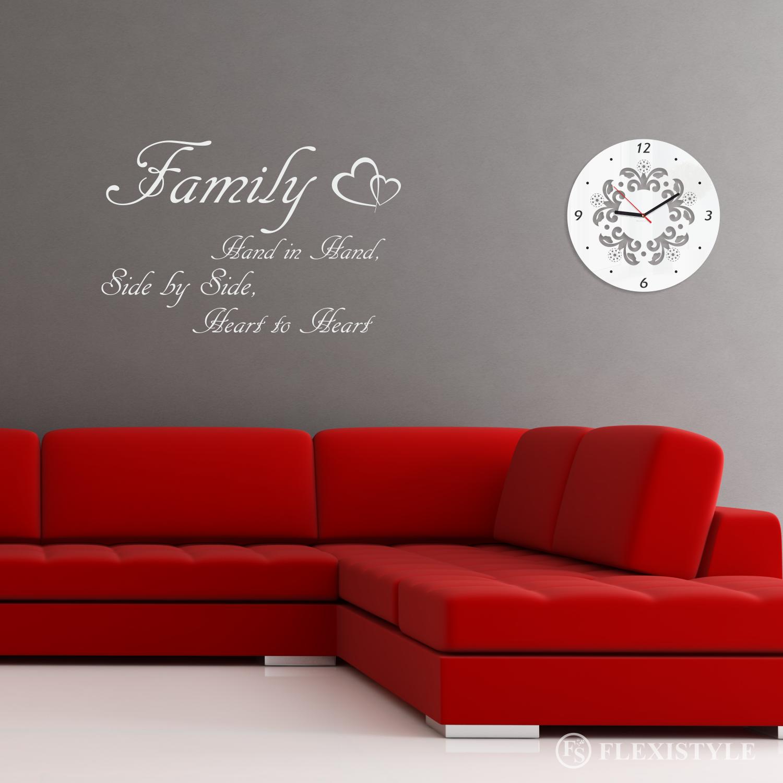 Napis Na ścianę Naklejka Family 1